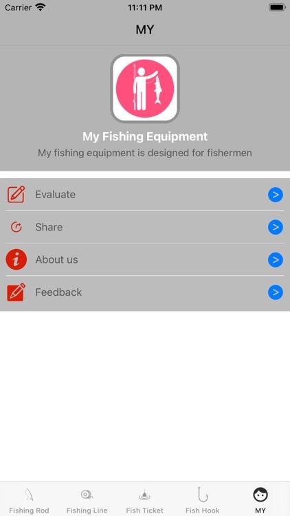 My Fishing Equipment screenshot-4