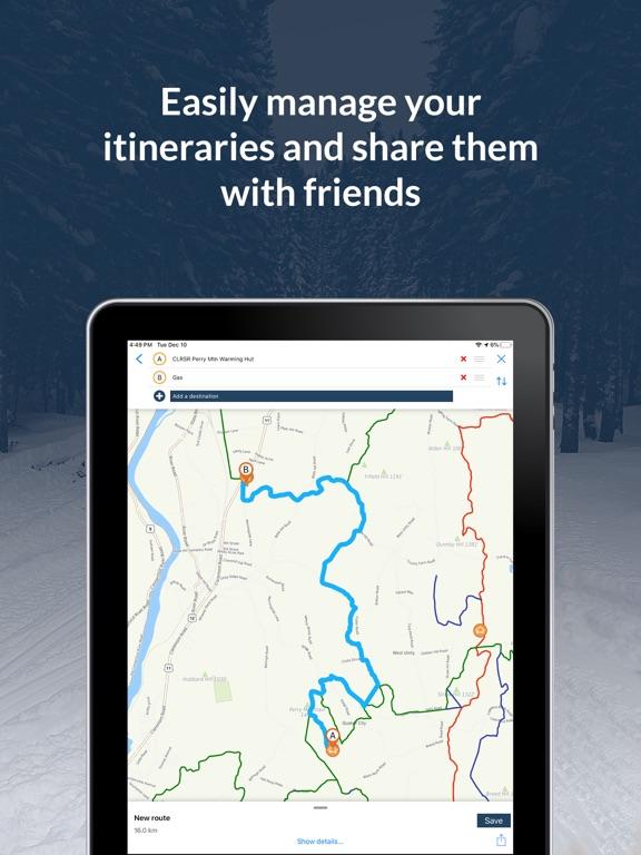 NH Snowmobile Trails 2021 screenshot 9