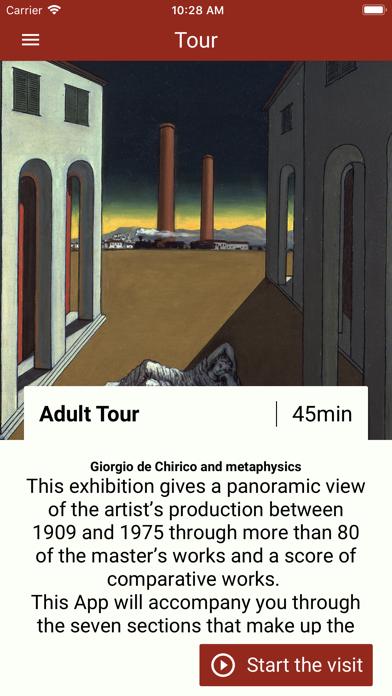 De Chirico e la Metafisica screenshot 2
