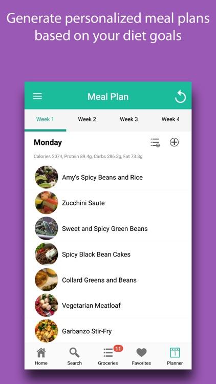 Diet Meal Planner screenshot-5