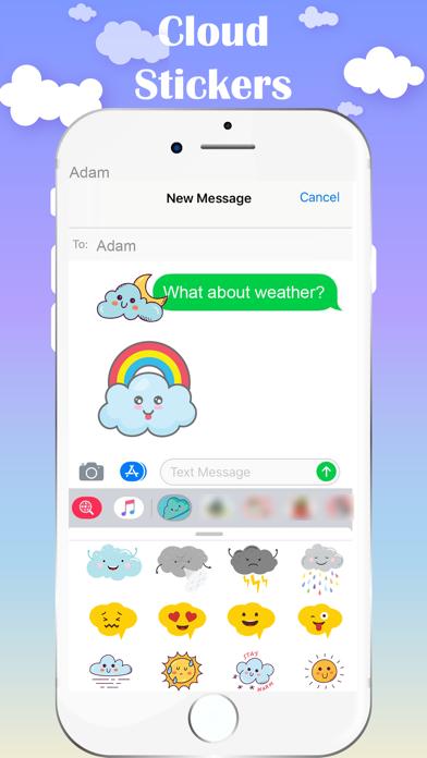 Cloud Stickers screenshot 4
