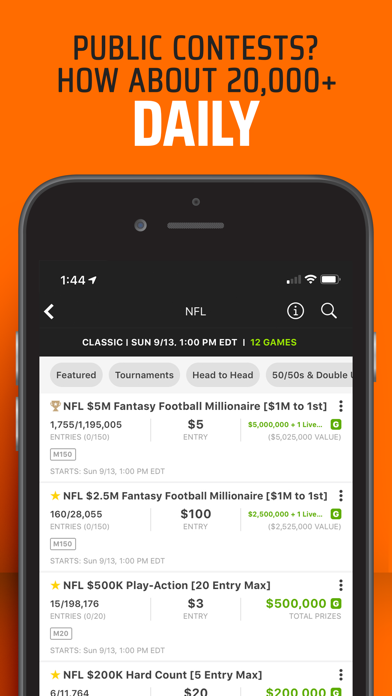 DraftKings Fantasy Football wiki review and how to guide