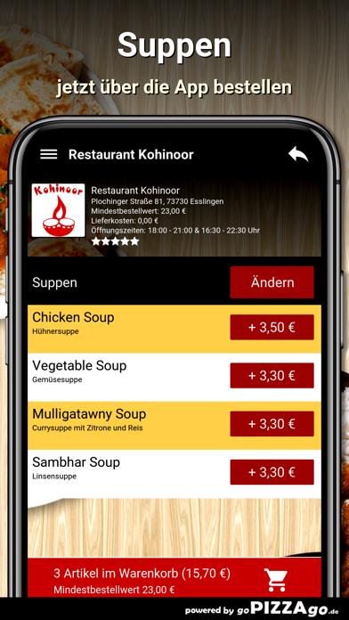 Restaurant Kohinoor Esslingen screenshot 5