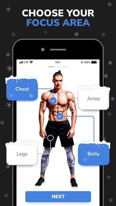 BetterMen: Home Workouts Screenshot
