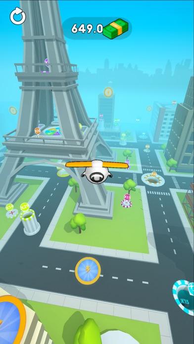 Sky Glider 3D screenshot four