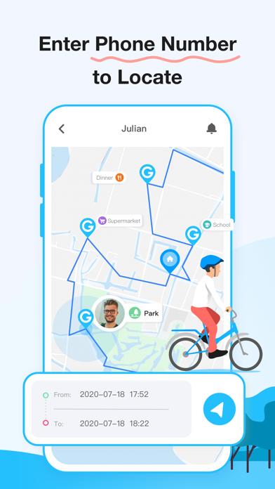 Geospot: GPS Location Tracker Screenshot