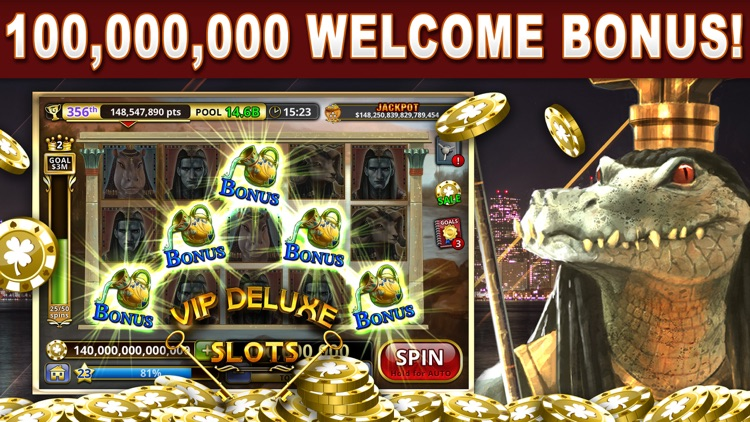 VIP Deluxe Slot Machine Games screenshot-0
