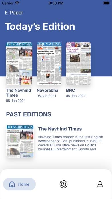 Navhind Times Navprabha ePaperScreenshot of 2