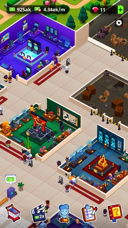 Idle Museum: Empire of Art screenshot-5