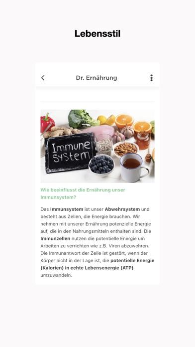 ImmunsignaturScreenshot von 2