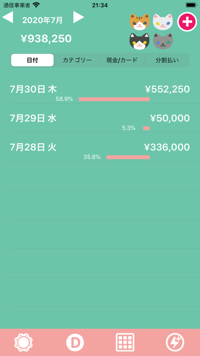 Hinakko Expense Manager ScreenShot4
