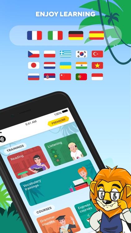 Learn English with Lingualeo