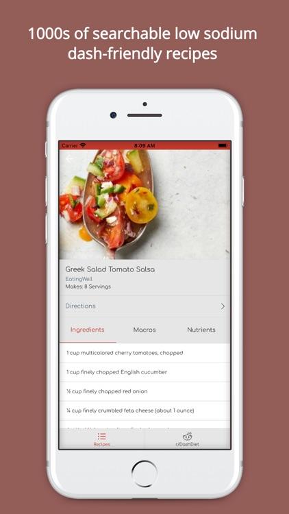 My Dash Diet: #1 Food Tracker