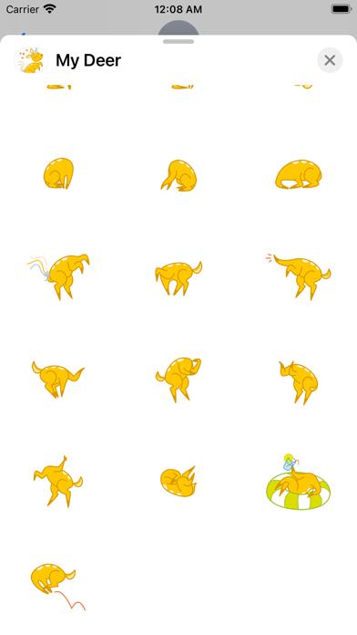 My Deer Sticker Packのおすすめ画像4