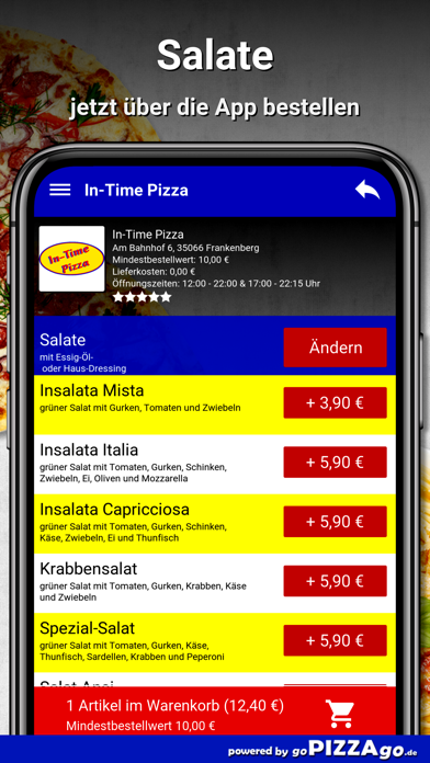 In-Time Pizza Frankenberg screenshot 2