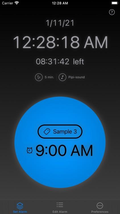 Alarm Clock Cards screenshot-3