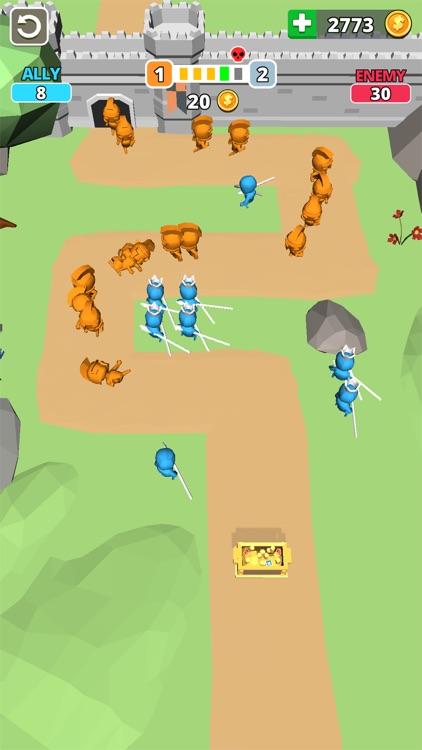 Tiny Battle - Merge Troops! screenshot-5