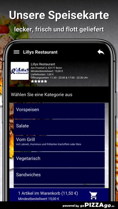 Lillys Restaurant Bonn screenshot 4