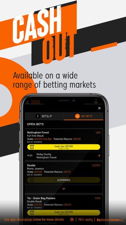888sport: Live Sports Betting. screenshot-4