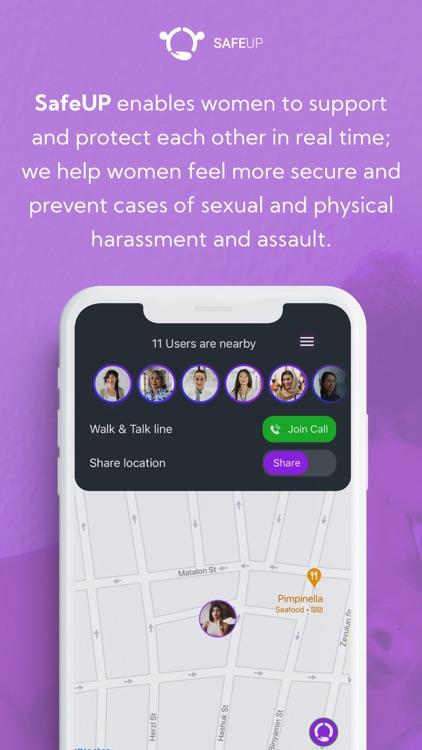SafeUP - Women's Safety Net