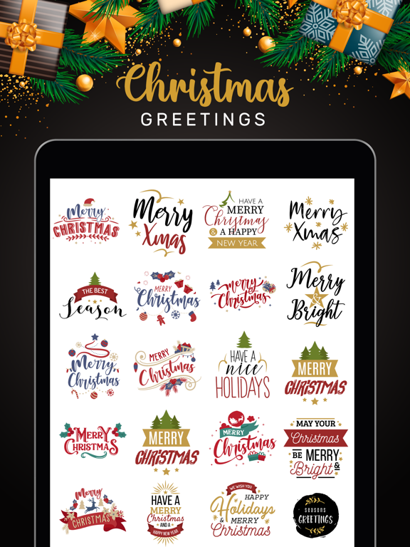 Christmas Lettering Stickers! screenshot 7