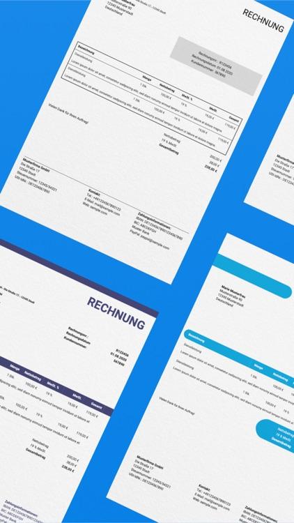 BillMore - Create Invoices screenshot-3