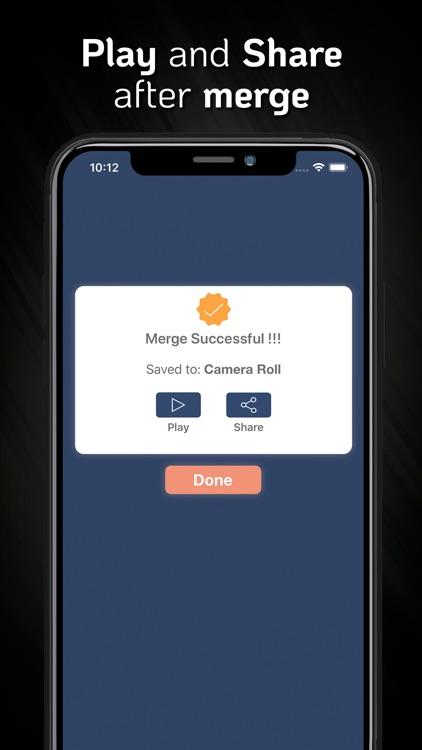 MP4, MOV Video Merger & Joiner screenshot-5
