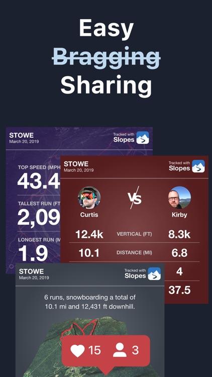 Slopes: Ski & Snowboard screenshot-6