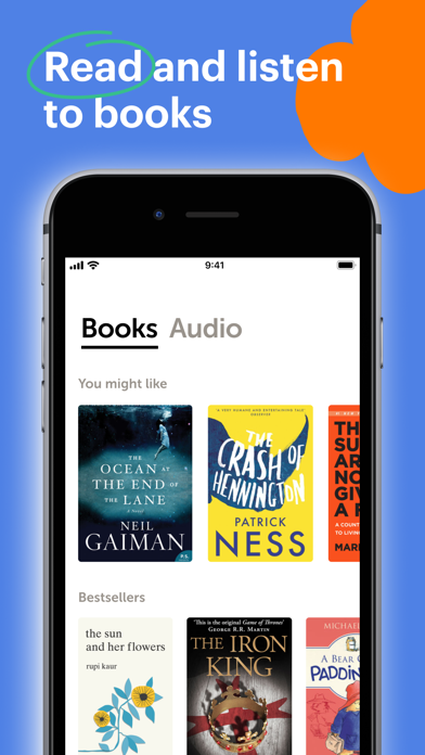 Bookmate. Listen & read books Screenshot