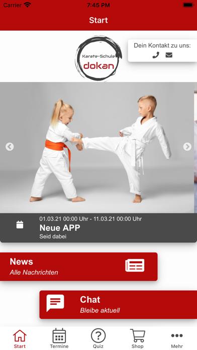 Karate-Schule DokanScreenshot von 2