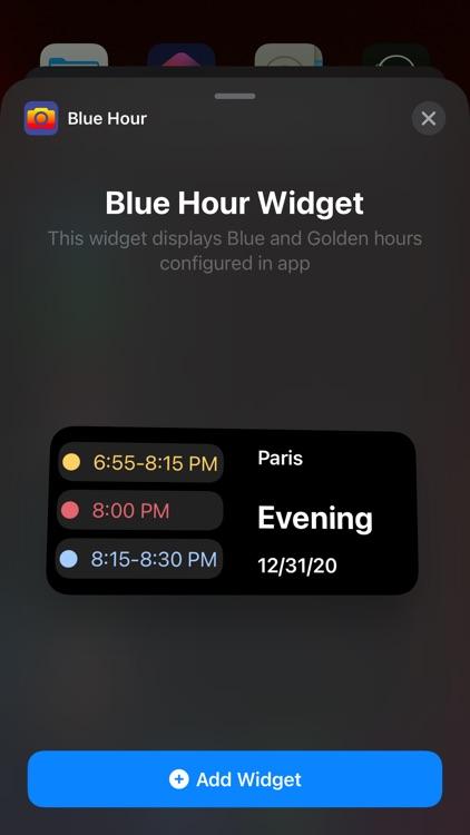 Blue Golden Hour