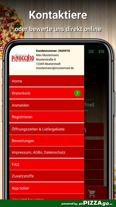 Pizzeria Pinocchio Mölln screenshot 3