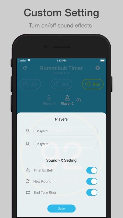 Rummikub Timer screenshot-5