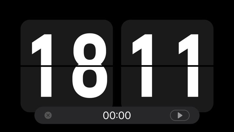 Nightstand clock & Flip clock screenshot-4