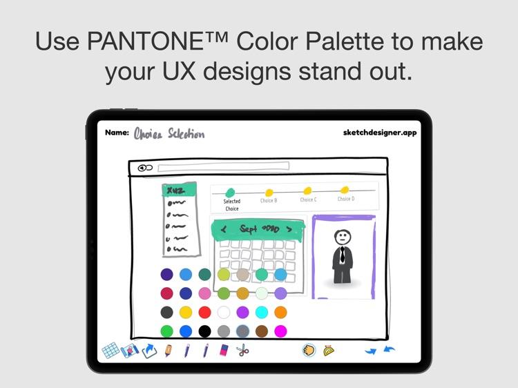 SketchDesigner - UX Design App screenshot-3