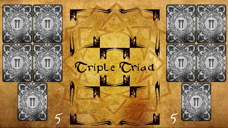 Triple Triad Trading Card Game