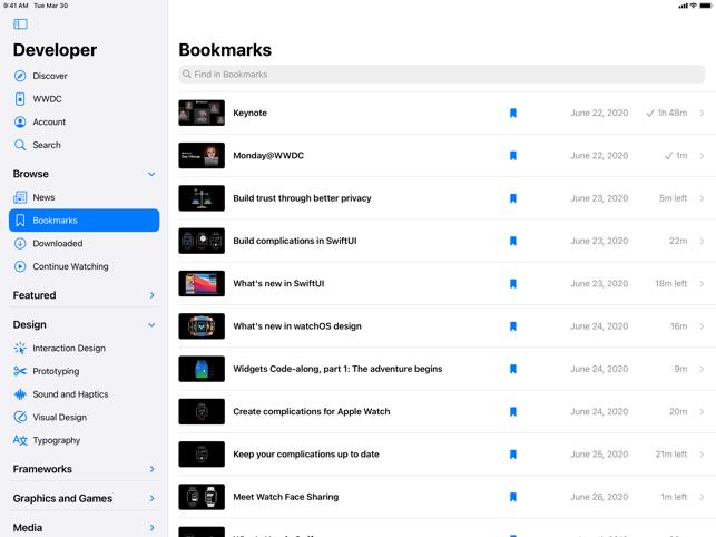 Apple Developer Screenshot
