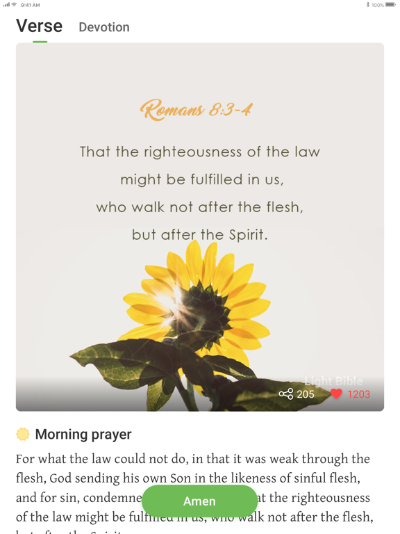 iPad Image of Bible KJV - Daily Bible Verse