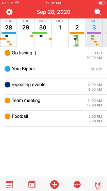 WidgetCal-Calendar Widget screenshot-6
