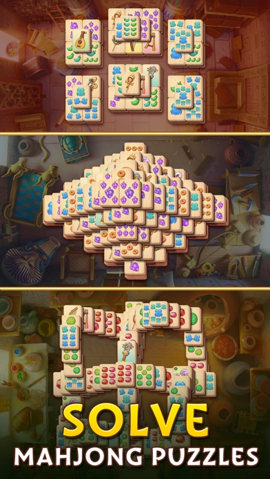 Pyramid of Mahjong: Tile Match screenshot 3