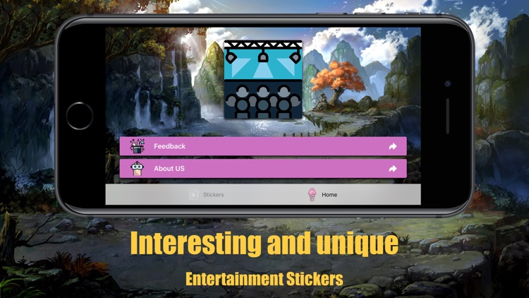Powell Entertainment Stickers screenshot-3