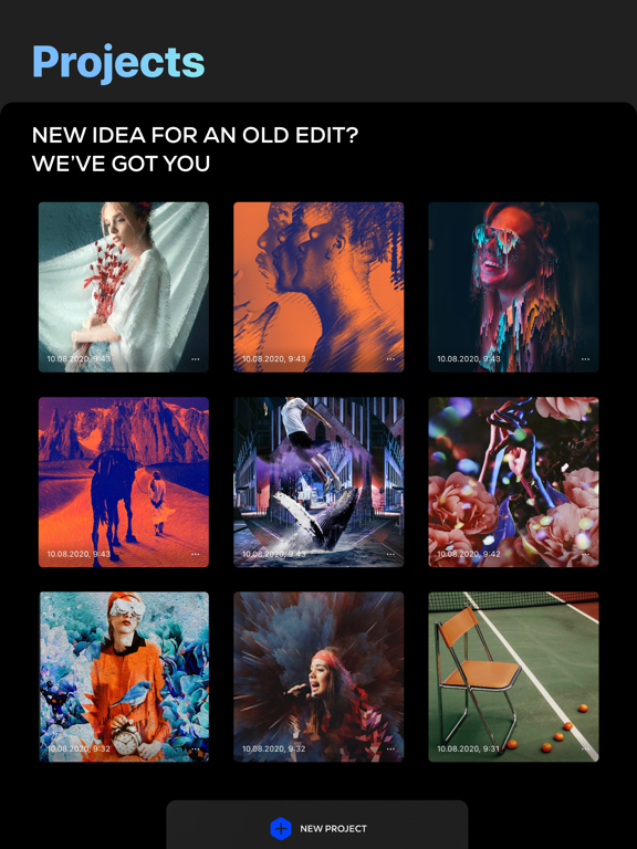Trigraphy: Create Abstract Artのおすすめ画像6