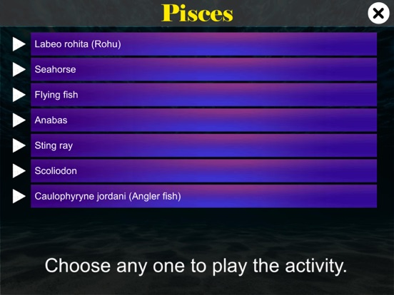 Diversity in Living: Pisces screenshot 9