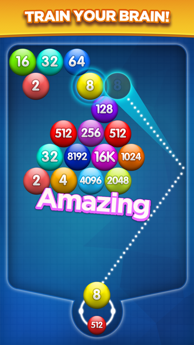 Number Bubble Shooter. for windows pc