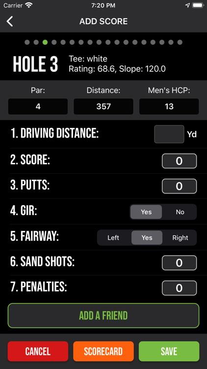 nRange Golf GPS screenshot-5