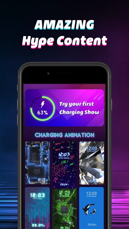 Charging Show: Cool Animation