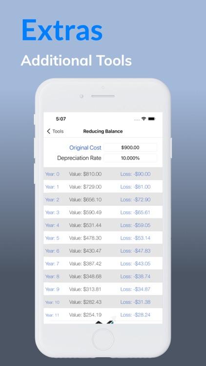 Loan Calculator - Debt Payoff screenshot-4