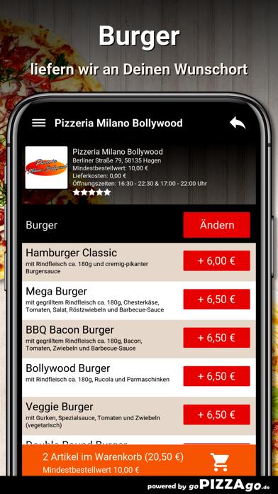 Milano Bollywood Hagen screenshot 6