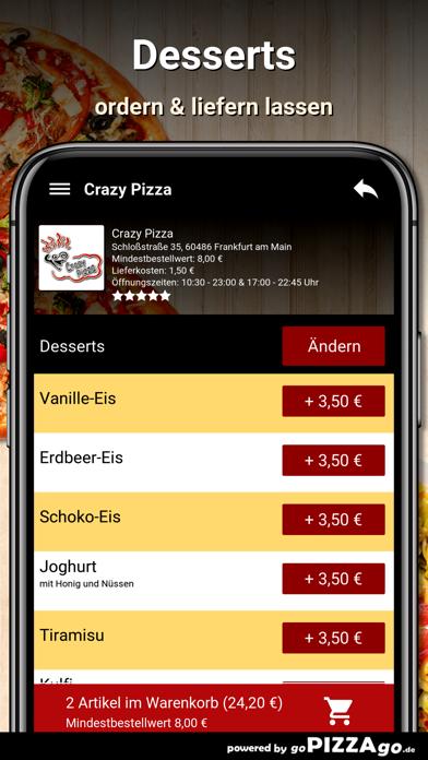 Crazy Pizza Frankfurt am Main screenshot 5