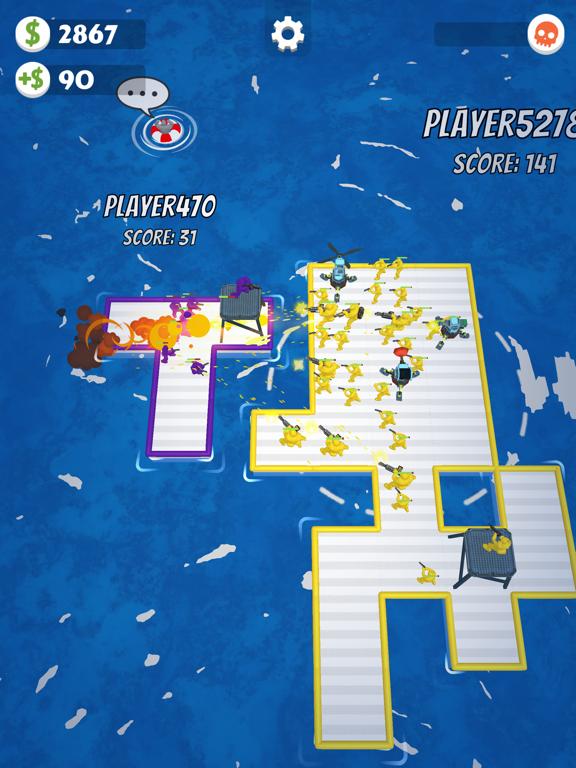 War of Rafts: Naval Battle screenshot 7